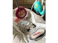 Comfort and Harmony automatic musical swing by Bright Starts