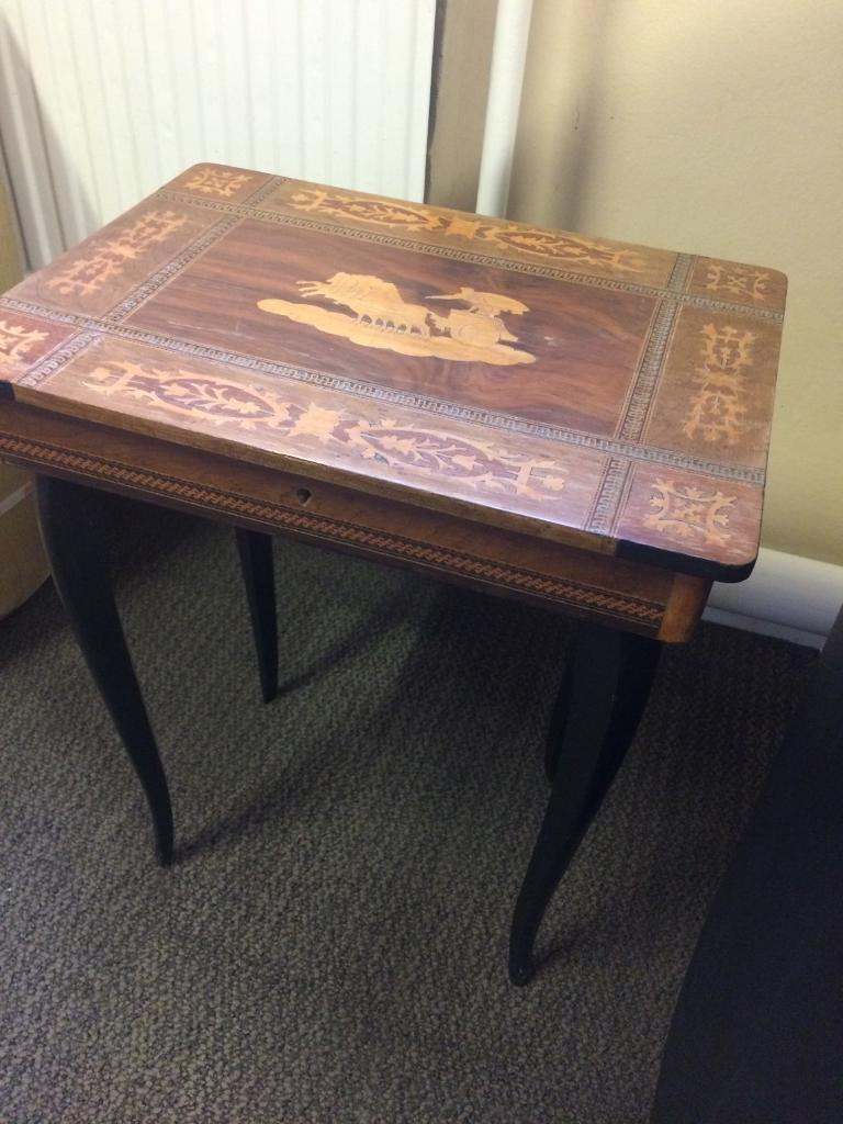 Musical side table