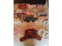 Baby Girls Large clothes bundle 3-6 months. Over 80 items