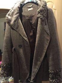 Ladies warm unique jacket
