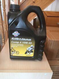 FUCHS Silkolene Comp 4 10W-40 Engine oil for bikes 4 litres