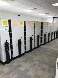 Complete Archive Rolling Storage System with Shelves And Mechanism