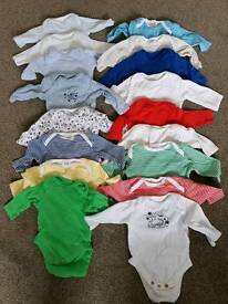 17 Long Sleeve Vests Up To 1 month