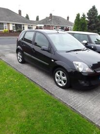 Ford Fiesta 1.25 Zetec . only 47,000 miles in lovely condition owned from new, 10 mths MOT