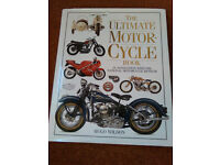 The Ultimate Motorcycle Book, hardback - as new condition