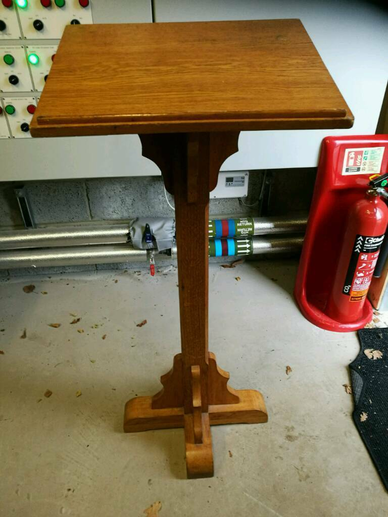 Solid wooden lectern