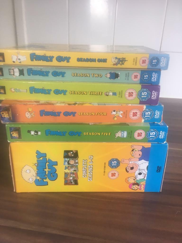 family guy season 19 dvd