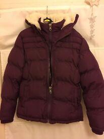 Winter coat girls 13 years. Used, like new