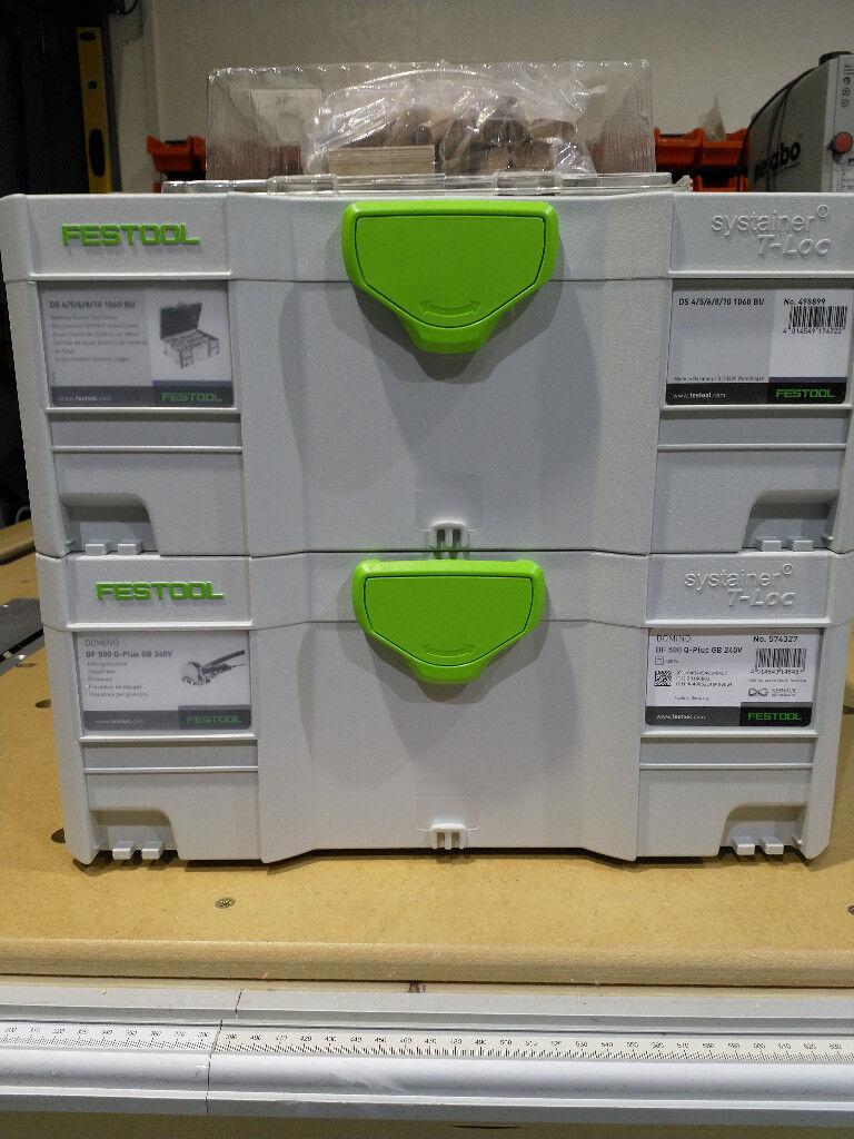 Festool DOMINO DF 500 Q-Set Jointer & Assortment 1060