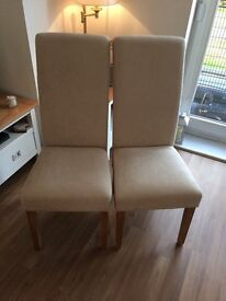 2 JTF dining chairs