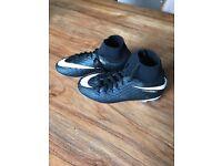 Football boots Nike hyper venom sock boots size 2