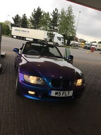 BMW z3 Full History Private Plate convertible roadster Px swap bargain !