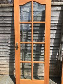 Internal Wood 'Rennie Mackintosh' Glazed Door