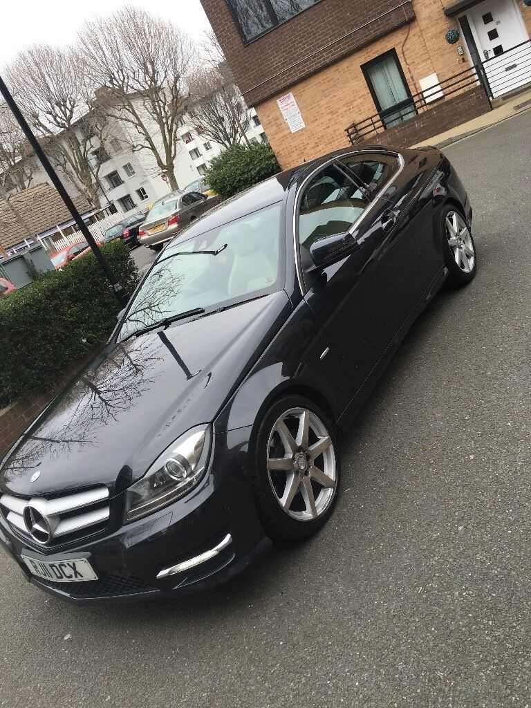 Mercedes C Class Coupe C220 CDI 11,300 ONO