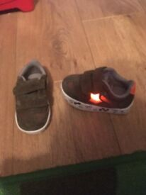 Selection of baby boys/toddle shoes