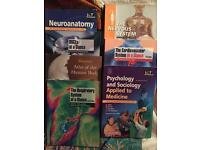 Medical student text books