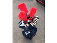 Regal pro orbit oversize golf clubs with matching bag