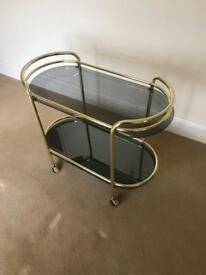 Golf and Black Serving Trolley