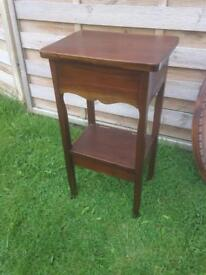 French occasional wooden table