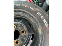 Mini 12 inch wheels wanted for trailer