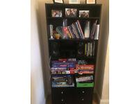 Black library storage