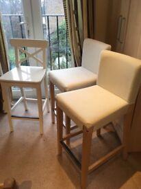 3 x IKEA stools