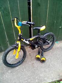 Boys bike 16 inch wheels good condition