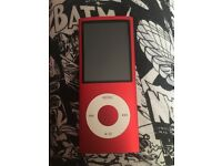Ipod Nano Red Limited Edition 16GB great condition