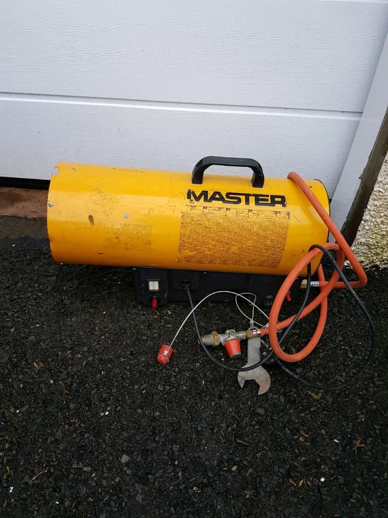 Master BLP 30 Propane Space heater 240volt