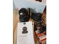 WHOLESALE NEW Motorola SCOUT83 Wi-Fi HD Pet Video Camera BLACK