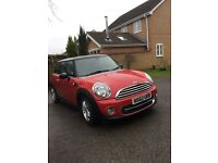 '62 plate Mini Cooper D 1.6, chilli pack, multiple extras