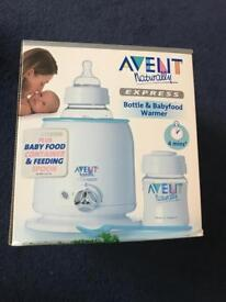 Baby bottle and baby food warmer