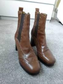 Orla Kiely Dixie boots size 7.5