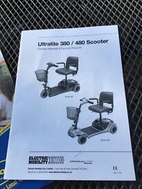 Ultralite 480 Mobility scooter for sale