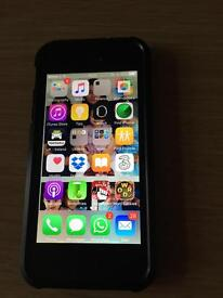 iPhone 5 32gb black and grey