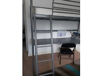 Ikea bunk bed and study desk