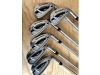 Taylormade M1 Irons, steel shafts, 5 to PW.