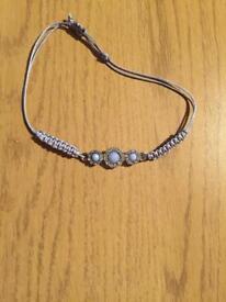 Blue stones bracelet