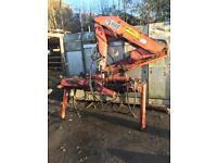 Hiab 650 square boom 7.5 lorry cane