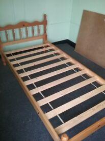 Pine Singke Bed