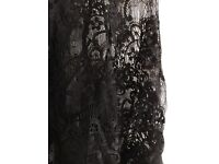 Black Zara top, size L