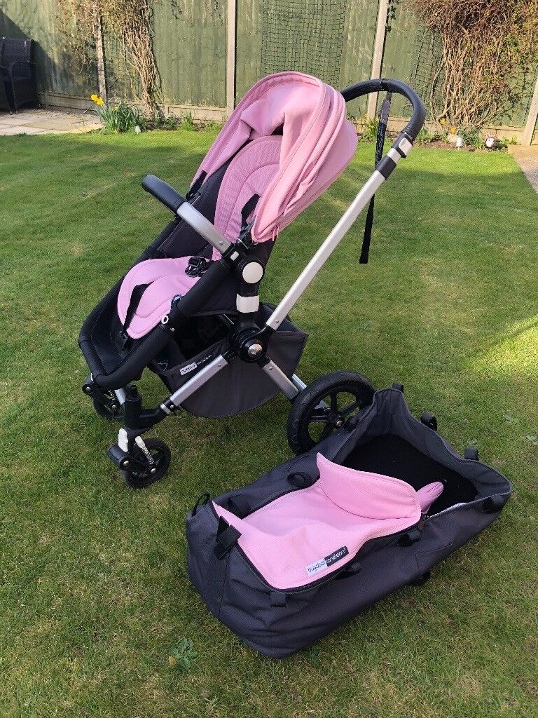 Bugaboo cameleon Pink 2in1 with extras
