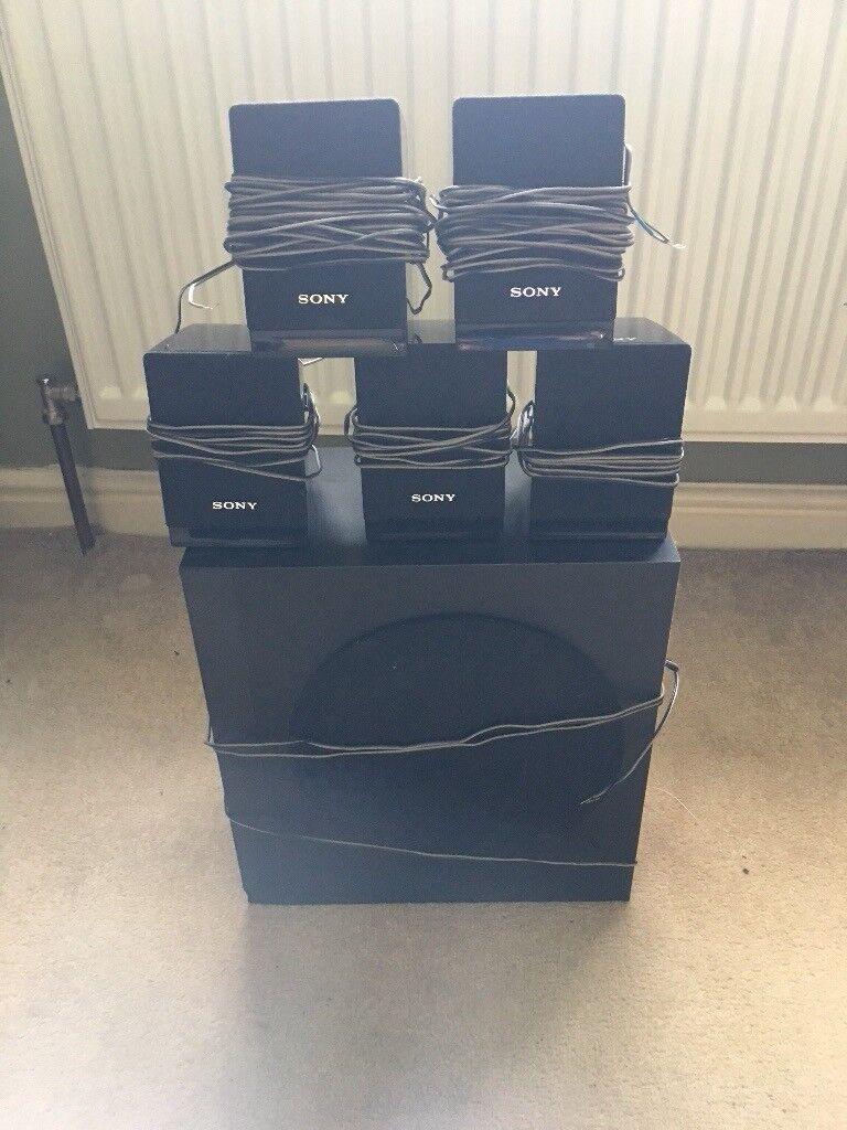 Sony 5-1 speakers