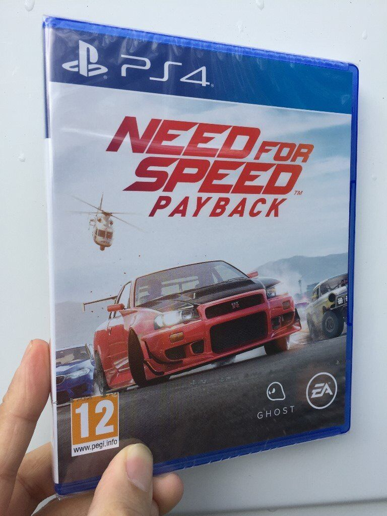 need for speed payback ps4 or xbox one in southside. Black Bedroom Furniture Sets. Home Design Ideas