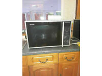 Top of the Range Sharp Convection Oven Microwave 40L largest semi-industrial unit for home use.