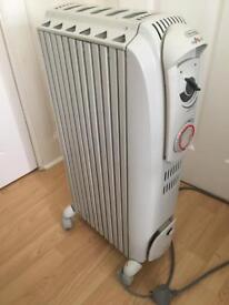 De longhi 1.5kw electric oil filled radiator