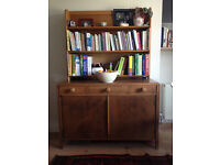 Wooden kitchen sideboard and shelving (can be used as dresser)