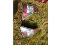 Renault Clio Mk2 Clear Rear lights