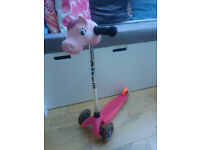 Girls Micro scooter pink Great condition