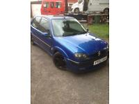 Saxo vts track car with MOT